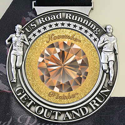 Virtual Race Medal